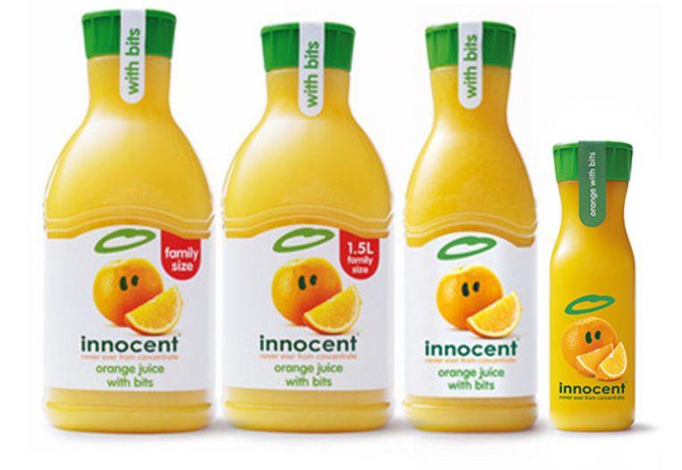 Het sapjesbedrijf Innocent is voor 90 procent eigendom van Coca-Cola. Beeld Werner Van Den Bergh