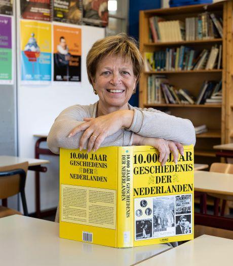 Is Meia Otten uit Lelystad de beste geschiedenisdocent van Nederland? 'Ik was helemaal van mijn stuk gebracht'