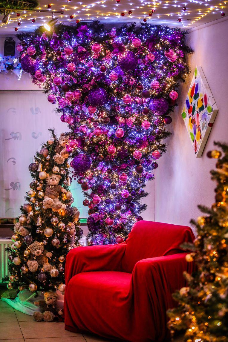 Bredene kersthuis van Dennis Pluy en Els Van Coile