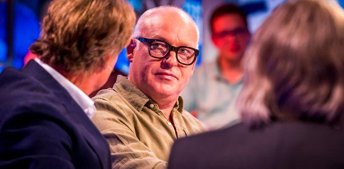 René van der Gijp is bestempeld tot grappigste bekende Nederlander.