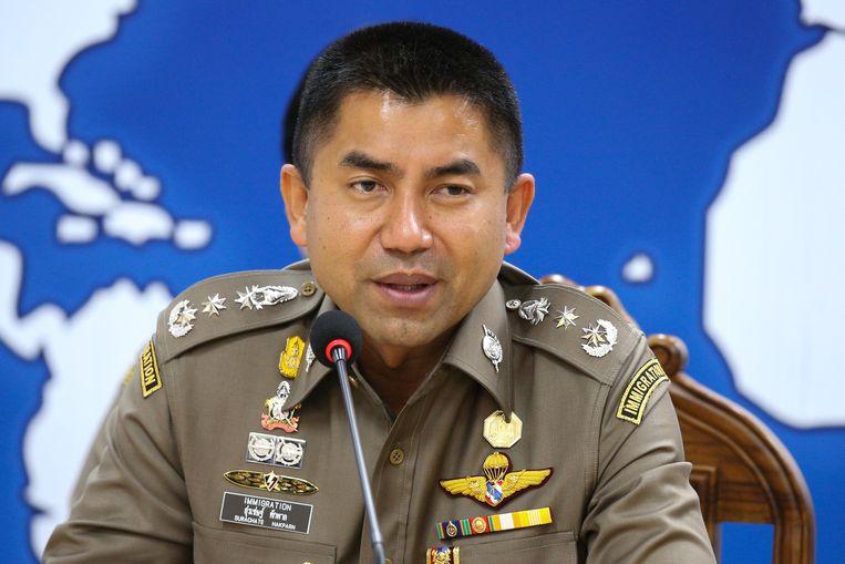De Thaise immigratiechef Surachate Hakparn.