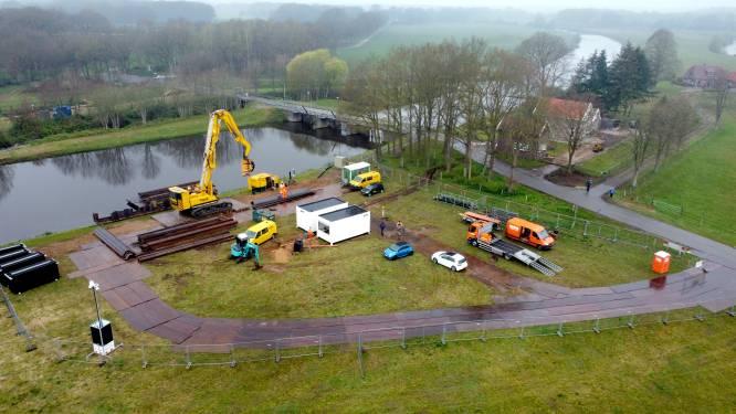 Waterschap Vechtstromen breekt bouwterrein bij Junne na 'stuwsoap' en zomer vol rechtszaken weer af