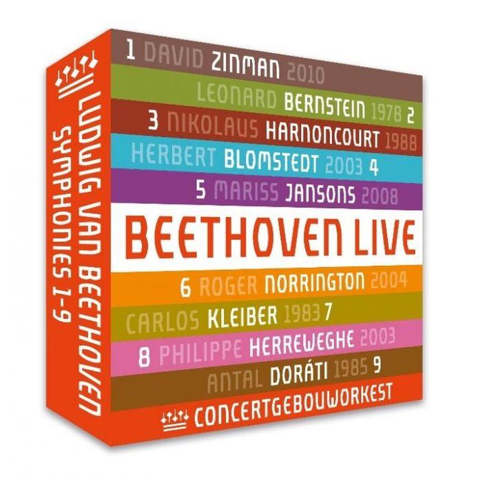 Met deze box gaat het Koninklijk Concertgebouworkest op zijn eigen label het einde van dit opmerkelijke Beethovenjaar knallend tegemoet.