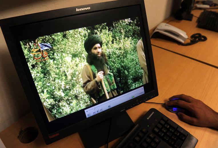 Maulana Fazlullah op een archiefbeeld uit 2013. Beeld AFP