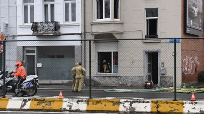 Studentenhuis onbewoonbaar na brand