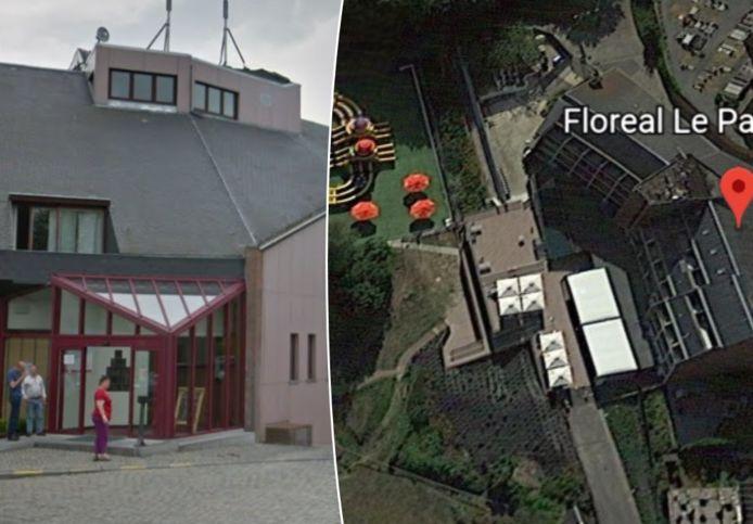 Hotel-restaurant Floréal  (Le Panoramique) in Mont-Saint-Aubert (Doornik).
