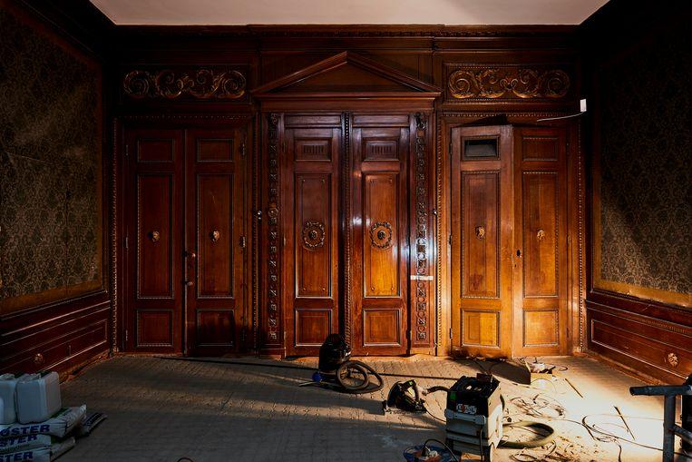 Marjan Scharloo: 'Je moet straks wel het gevoel hebben dat je door een huis loopt.'  Beeld Studio Johan Nieuwenhuize