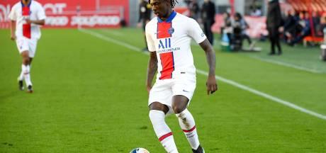L'attaquant du PSG Moise Kean testé positif à la Covid-19