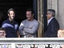 Jean Dujardin ne quitte plus George Clooney