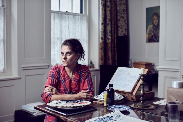 Tracey Emin: 'Van Gogh gebruikte in zijn kunst continu zichzelf. Maar als een vrouw zoiets doet, dan is ze een jammerende narcist.' Beeld Alun Callender