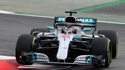 Lewis Hamilton vliegt naar pole in GP van Spanje, Vandoorne klokt elfde tijd