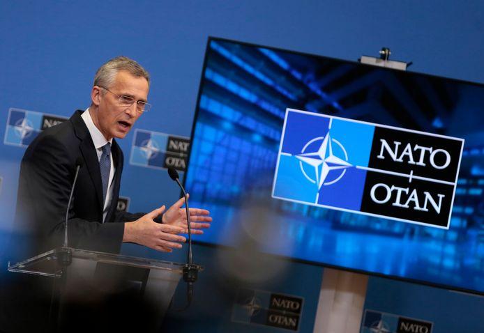 De secretaris-generaal van de NAVO, Jens Stoltenberg.