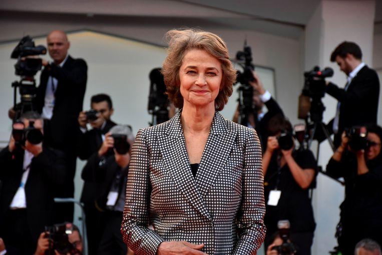 Charlotte Rampling mag zich de beste actrice in Venetië noemen. Beeld Photo News