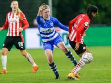PEC Zwolle Vrouwen moet weer diep buigen voor PSV