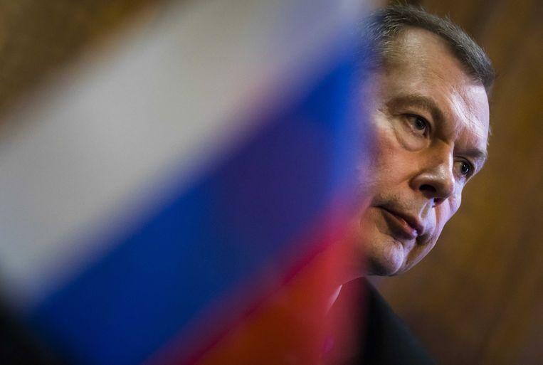Russische ambassadeur voor Nederland Alexander Shulgin. Beeld ANP