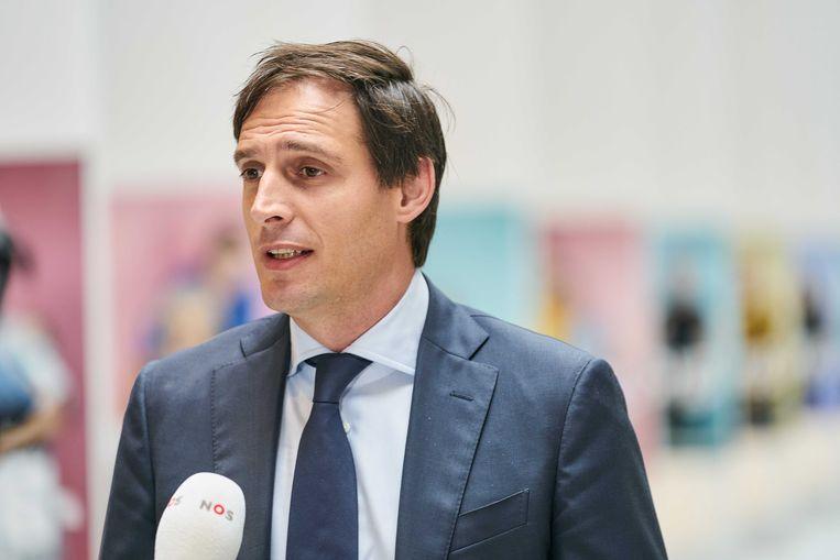 Minister Wopke Hoekstra (Financiën, CDA)  Beeld ANP
