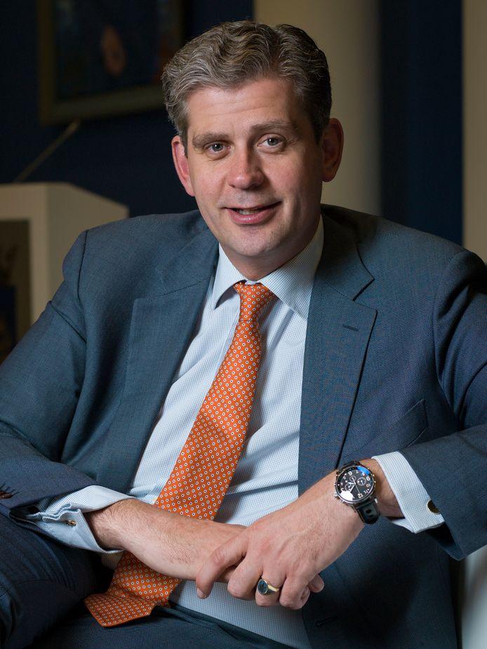 Burgemeester van Dordrecht Wouter Kolff.