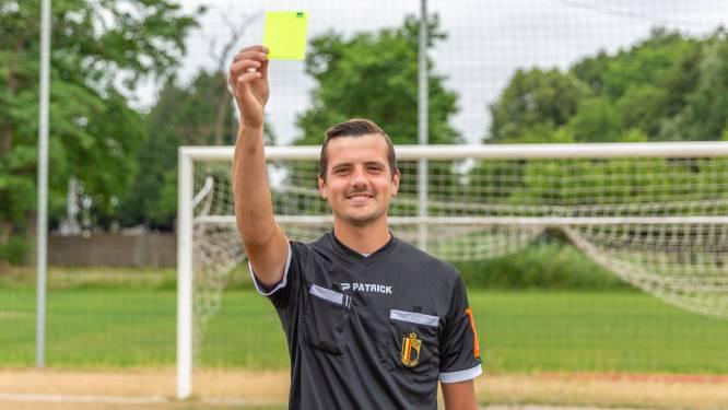 """Arno (27) krijgt kans om scheidsrechter te worden in professioneel voetbal: """"Microbe gekregen van mijn vader"""""""