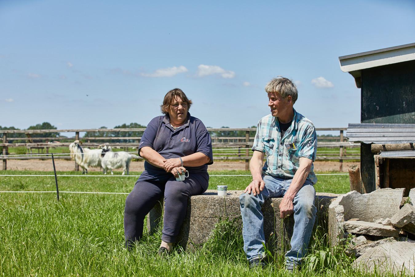Op boerderij van Monique en Bennie Weiden, kunnen gasten onder het genot van eigen meegebrachte voedsel lunchen op elke willekeurige plek.