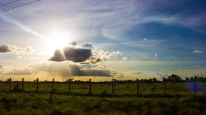 Zon moet wijken voor wolken en regenbui, maar deze week toch nog tot 28 graden