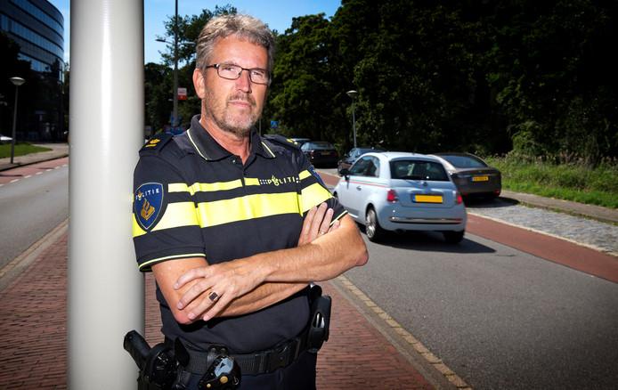 Paul Broer, plaatsvervangend portefeuillehouder verkeer bij de Nationale Politie.