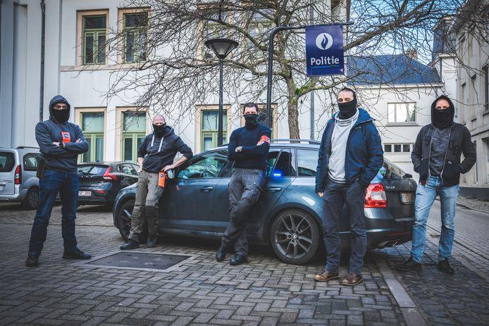 Team GO van politie Gent. Binnenkort gaat een vijfde lid aan de slag bij het team.