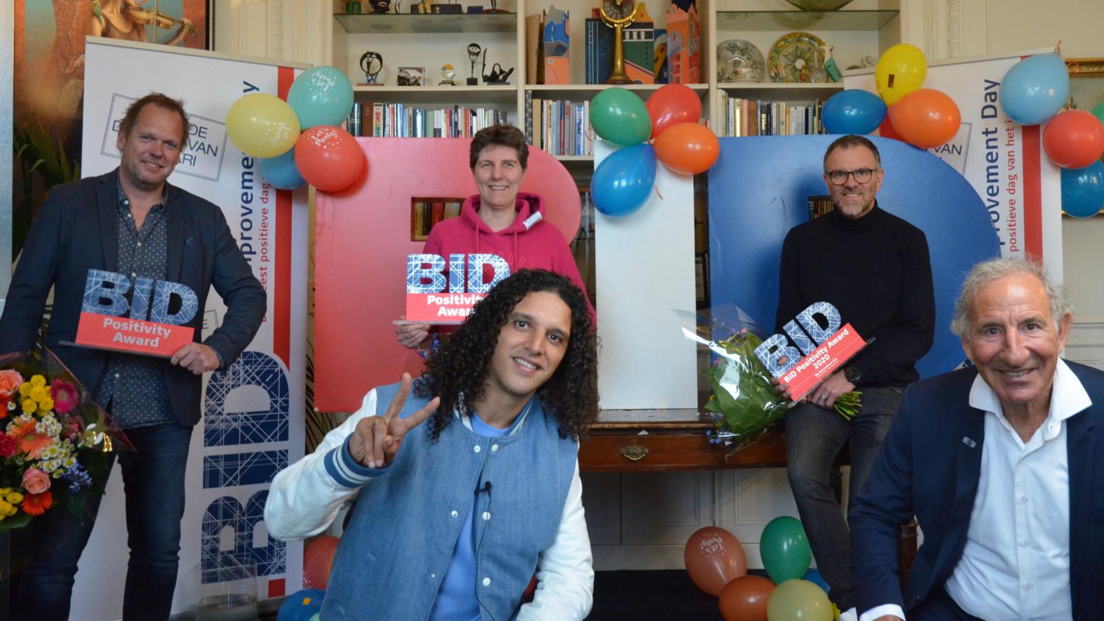 Mascha Struijk uit Utrecht is verkozen tot meest positieve Nederlander.