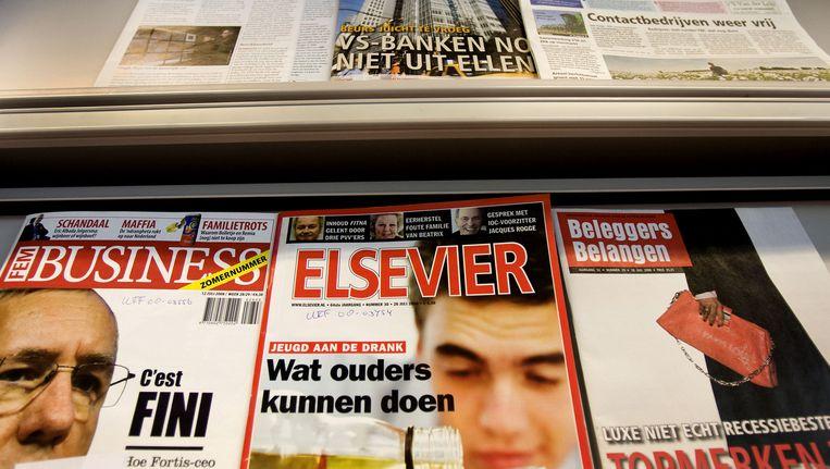 Elsevier mag de komende 4 jaar onder dezelfde naam verdergaan Beeld anp