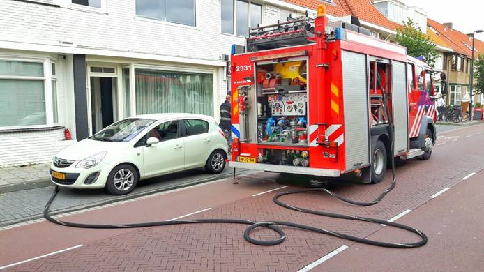 Keukenbrandje aan Heezerweg in Eindhoven