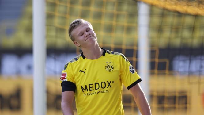 Dortmund zonder Haaland tegen Paderborn