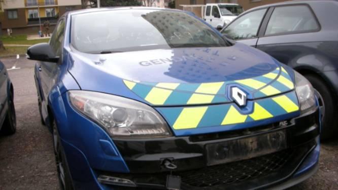 Razendsnelle interventie-auto van Franse gendarmerie te koop