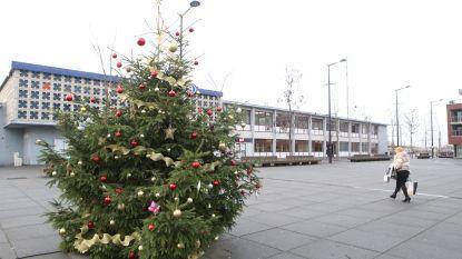 Landenaren sluiten kleine kerstboom in hun hart