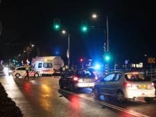 Kinderfiets na ongeval in Emmeloord vast onder truck, ouders treffen zoon ongedeerd aan