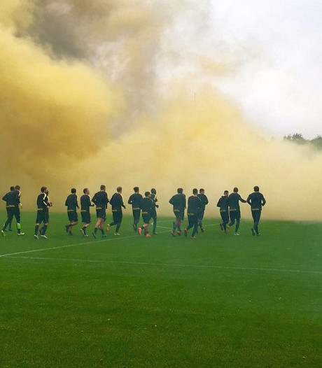 Vuurwerkverbod op laatste training bij Vitesse en NEC