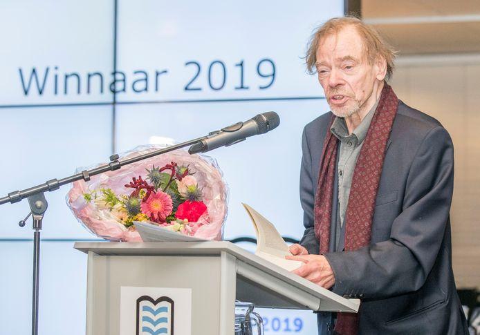 Wessel te Gussinklo won vorig jaar de Zeeuwse Boekenprijs.