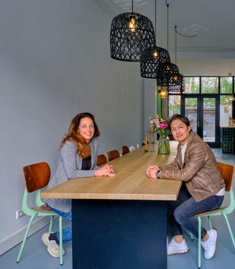 Letty en Habib brachten oude elementen terug in hun woning: 'Je mag zien dat het een huis uit 1899 is'