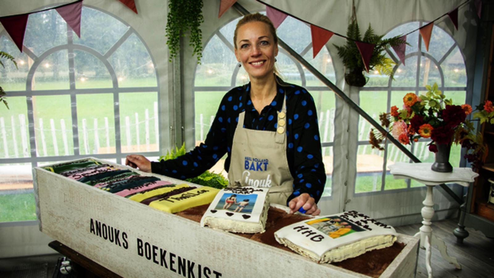 Winnares Anouk Glaudemans van de zevende editie Heel Holland Bakt.