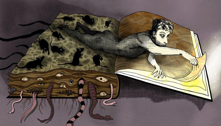 Illustratie voor The New Yorker. Beeld Boris Lyppens, The New Yorker (c) Conde Nast
