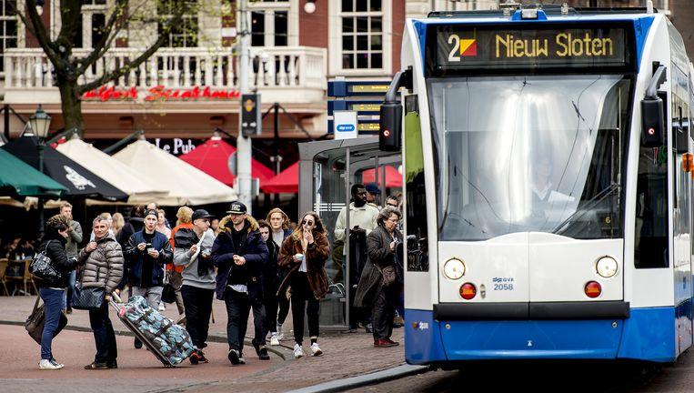 De kaart moet het openbaar vervoer voor toeristen een kwaliteitsimpuls geven Beeld anp