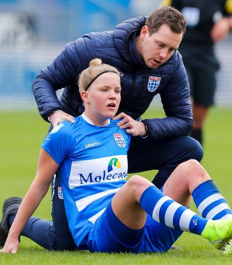 Jill Diekman bezorgt PEC Zwolle Vrouwen nieuwe overwinning