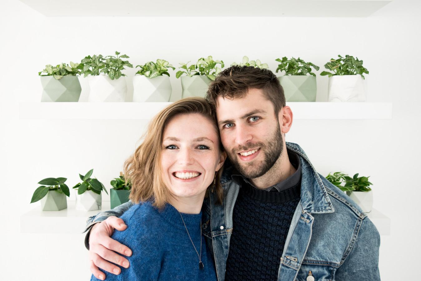 Anneleen Durnez en Nathan Noëth.