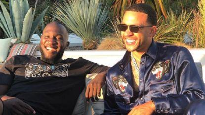 Sterren op vakantie: Lukaku vertoeft met Nederlandse klepper in Los Angeles, Mertens geniet van de Bahama's