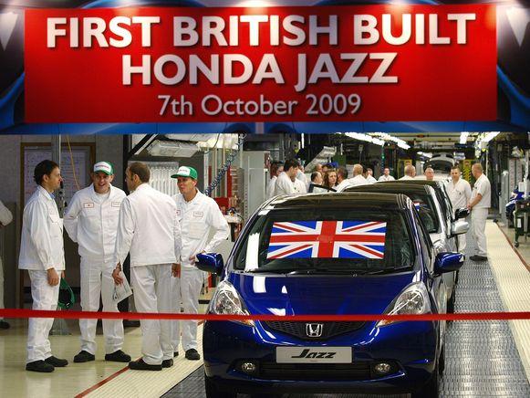 Honda is bezig een fabriek met 3500 werknemers in Swindon te sluiten.