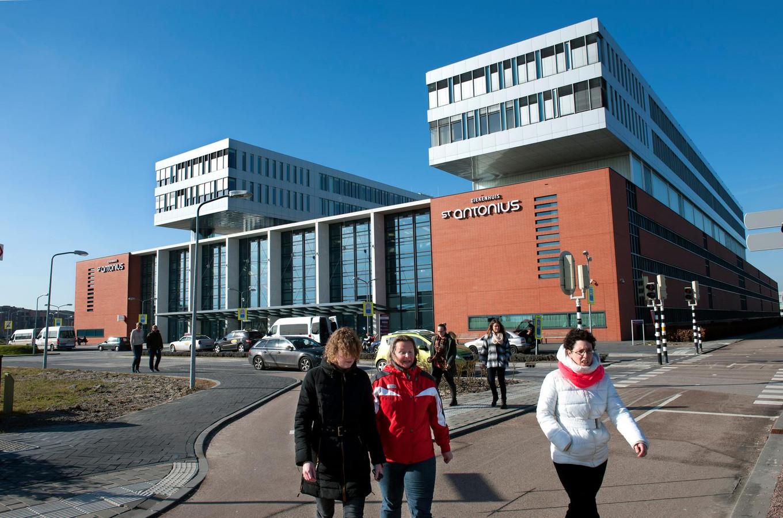 Het St. Antonius ziekenhuis Leidsche Rijn.