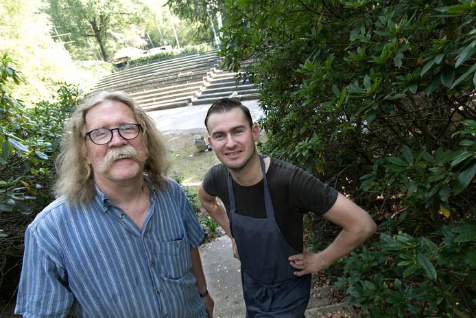 Gerard van Opstal (links) en Jan Roche.