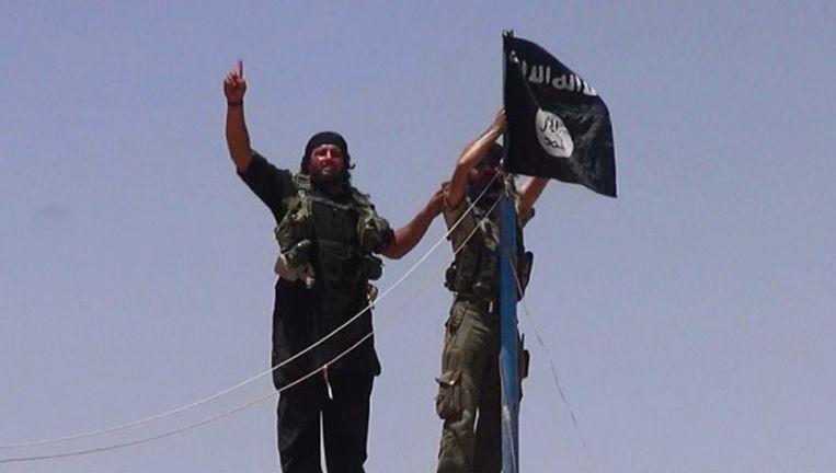 Jihadisten in Syrië Beeld AFP/ HO/ALBARAKA NEWS