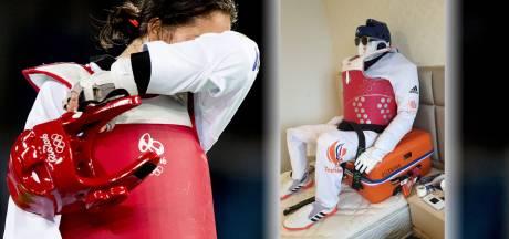 Hoe dood je tijd in olympische gevangenis? Twentse taekwondoka bouwt zelf kamergenoot: 'Je moet wat'