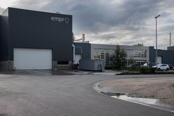 Kippenslachterij Empro op het Hoogveld.