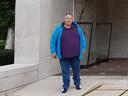 Gerard Ekelhof woog op z'n zwaarst 180 kilo