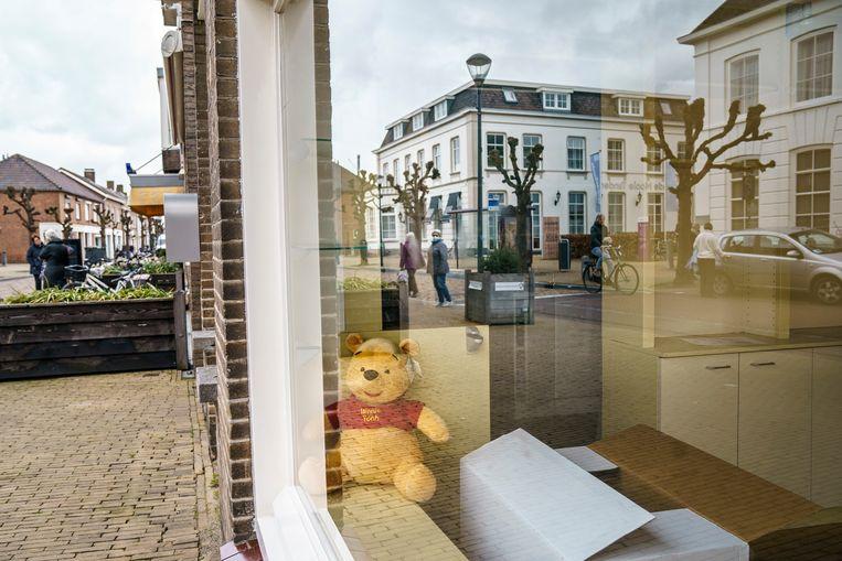 Het dorpscentrum van Prinsenbeek. Beeld Maikel Samuels